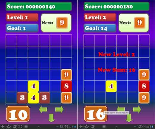 math tetris