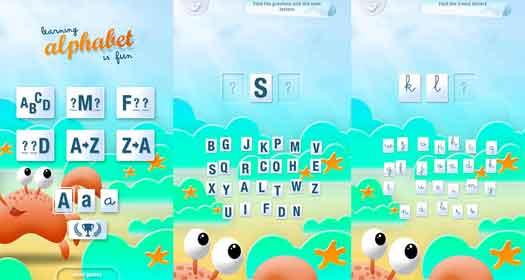 Alphabet Lernen Online