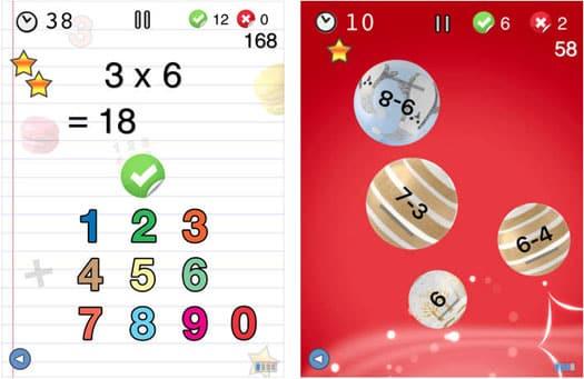 App der Woche fu00fcr iPhone und iPad: u0026quot;AB Mathe - Spiele fu00fcr Kinder und Erwachsene (von Nicolas ...