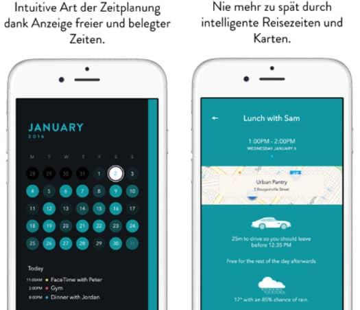 app der woche f r iphone ipad und ipod touch timepage kalender von moleskine moleskine srl. Black Bedroom Furniture Sets. Home Design Ideas